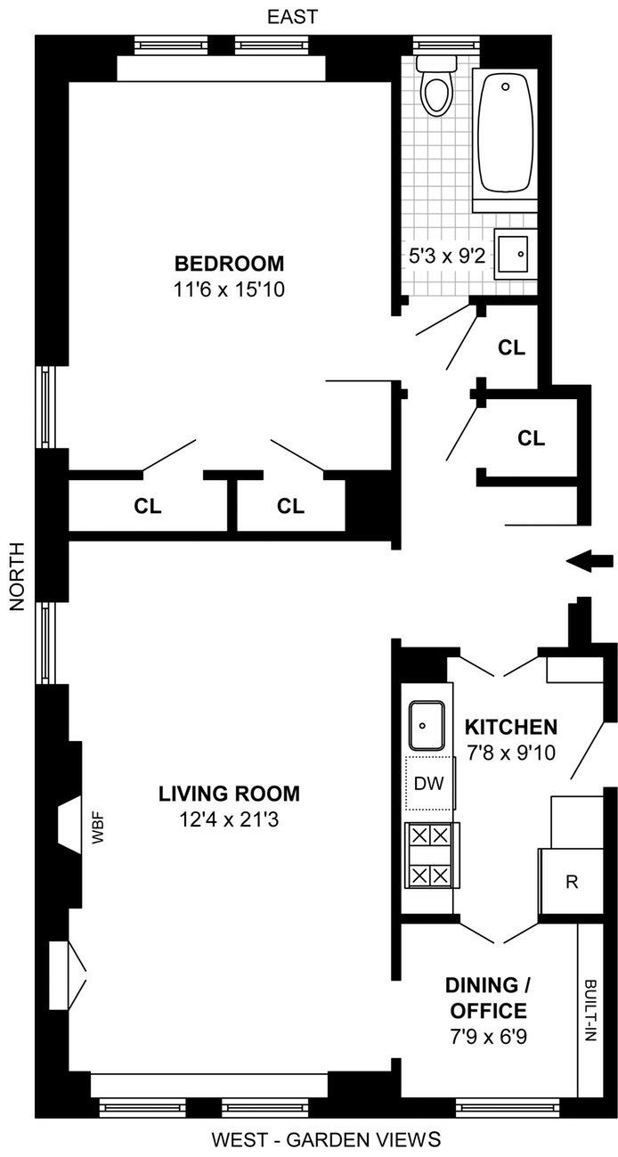 14 Sutton Place South, Midtown East, NYC, $850,000, Web #: 15743763