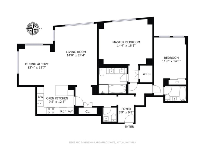 15 Central Park West 12M, Upper West Side, NYC, $7,495,000, Web #: 15768802