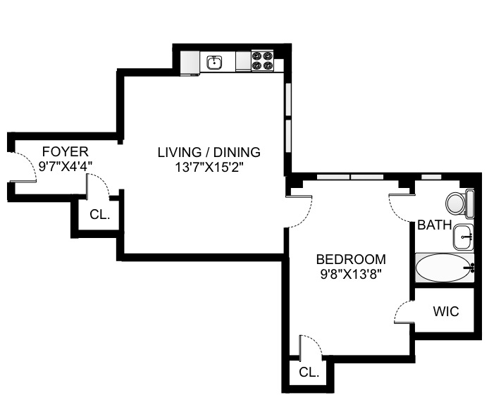 230 West End Avenue, Upper West Side, NYC, $455,000, Web #: 15888431