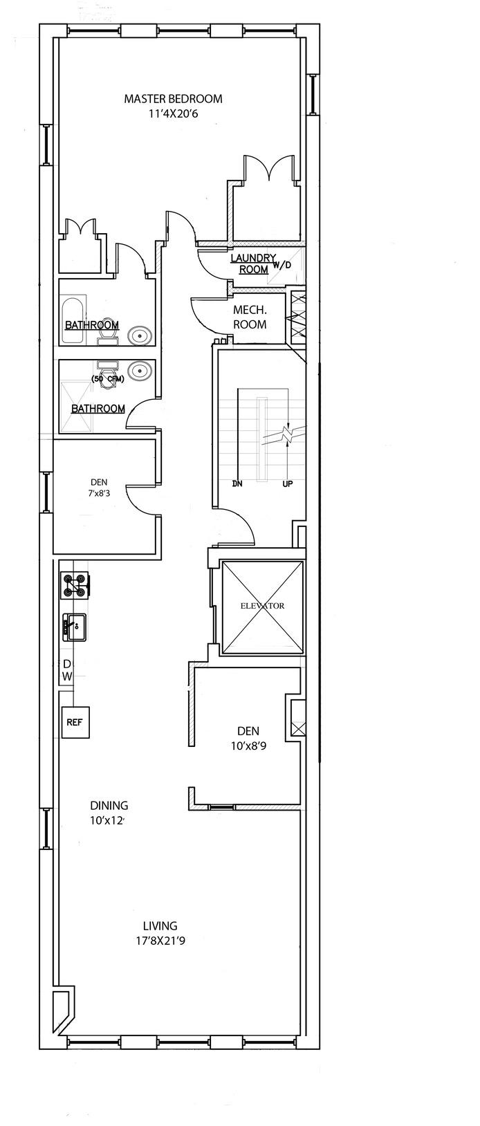 448 Greenwich Street 3rd Floor, Tribeca/SOHO/Chinatown, NYC, $6,500, Web #: 15940042