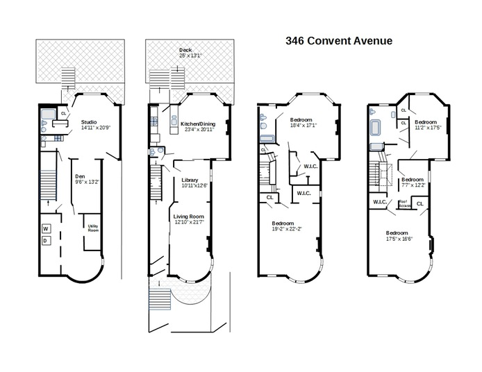 346 Convent Avenue, Morningside Heights/Harlem, NYC, $3,125,000, Web #: 16075055