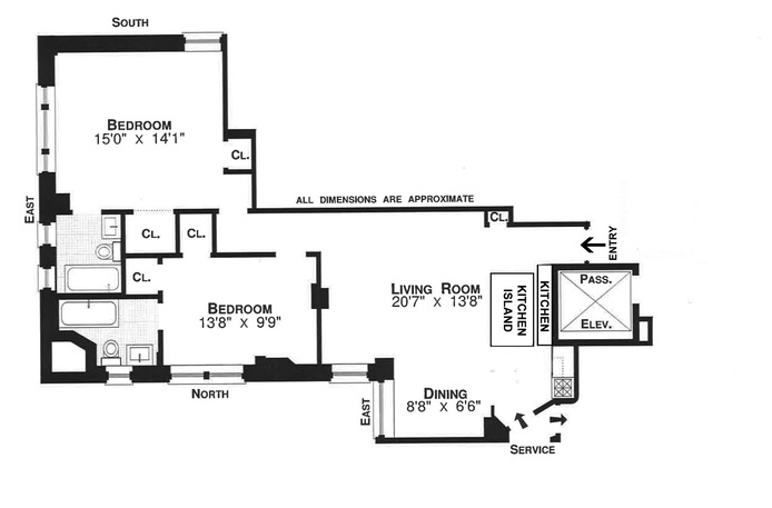 Park Avenue, Upper East Side, NYC, $5,600, Web #: 16128042