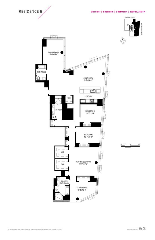 400 Park Avenue South, Murray Hill/Kips Bay, NYC, $5,329,990, Web #: 16190166
