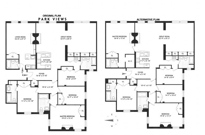 100 West 80th Street 9Bc, Upper West Side, NYC, $4,950,000, Web #: 16255766