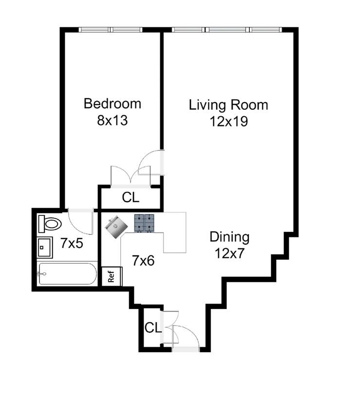 333 East 46th Street, Midtown East, NYC, $685,000, Web #: 16278205