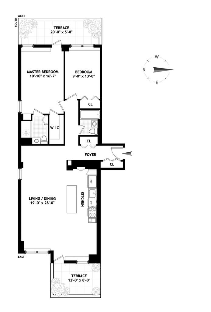 32 Gramercy Park South, East Village, NYC, $2,150,000, Web #: 16319818