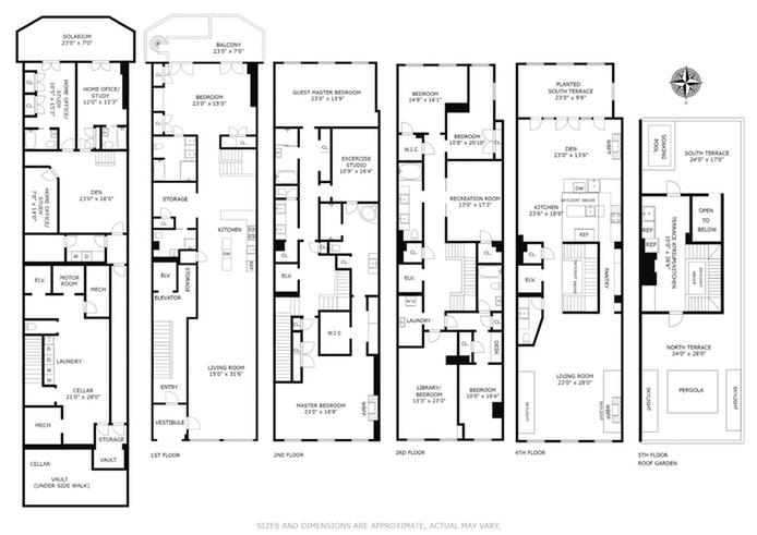 13 Harrison Street, Tribeca, NYC, $19,995,000, Web #: 16347861
