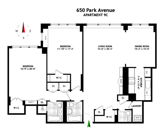 650 Park Avenue, Upper East Side, NYC, $2,150,000, Web #: 16356351