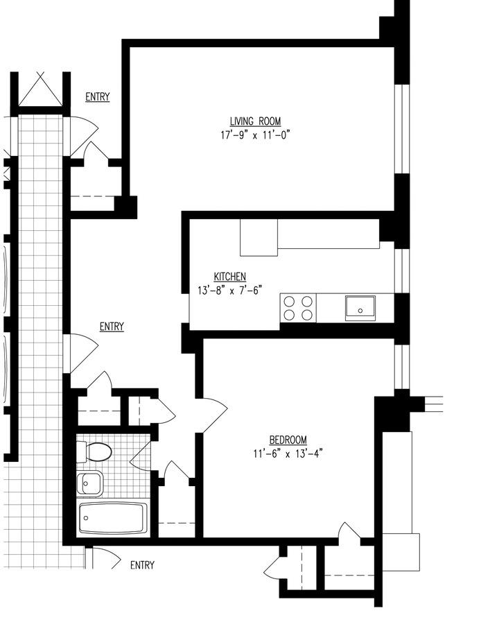 415 Grand Street E1605, Lower East Side, NYC, $2,950, Web #: 16428734