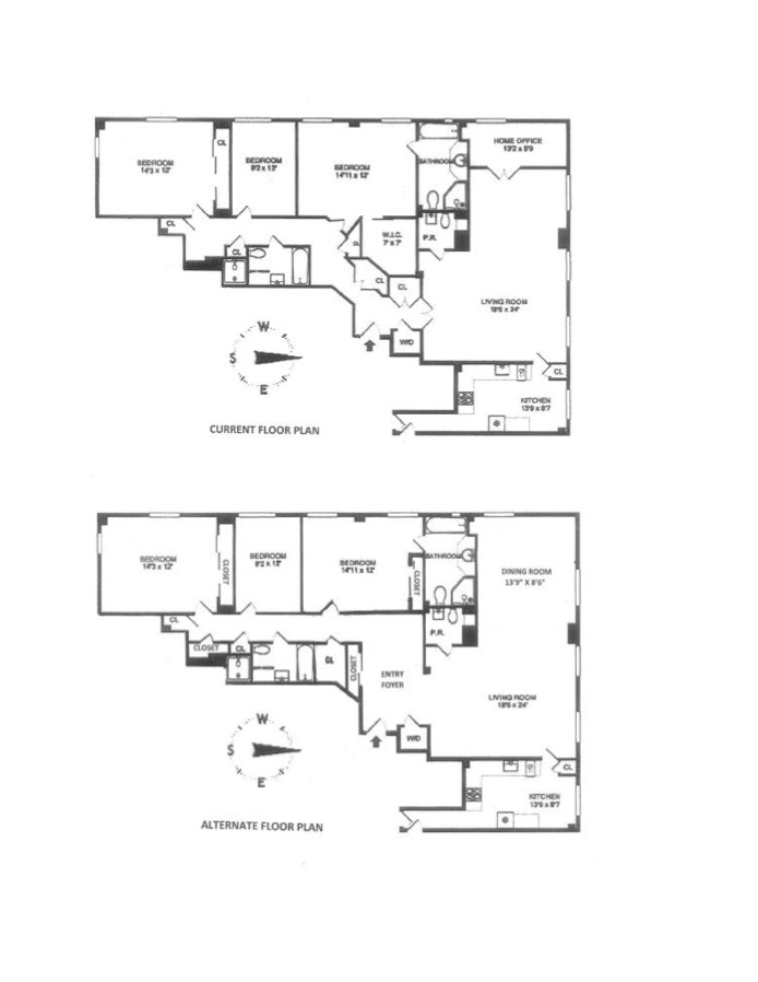 514 West End Avenue 16C, Upper West Side, NYC, $2,695,000, Web #: 16464948