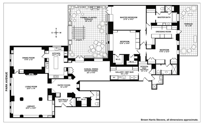 610 Park Avenue, Upper East Side, NYC, $13,250,000, Web #: 16466316