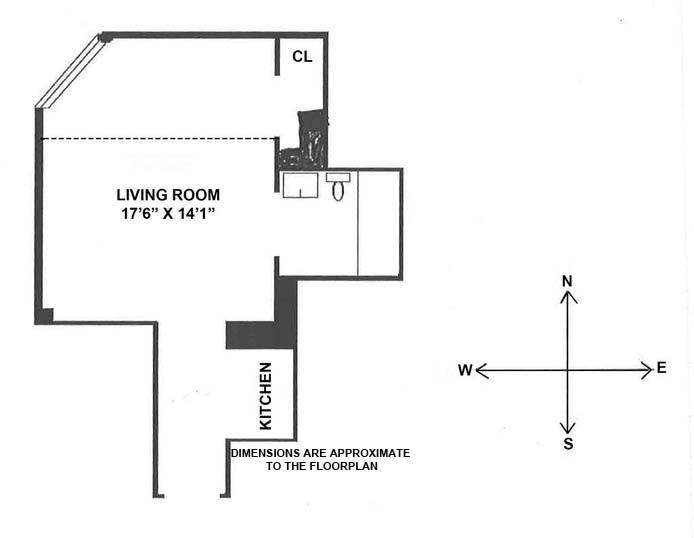 24 Fifth Avenue, Greenwich Village/Chelsea, NYC, $405,000, Web #: 16472286