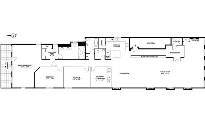 50 Bond Street 3Flr, Greenwich Village/NOHO/Little Italy, NYC, $18,000, Web #: 16479876