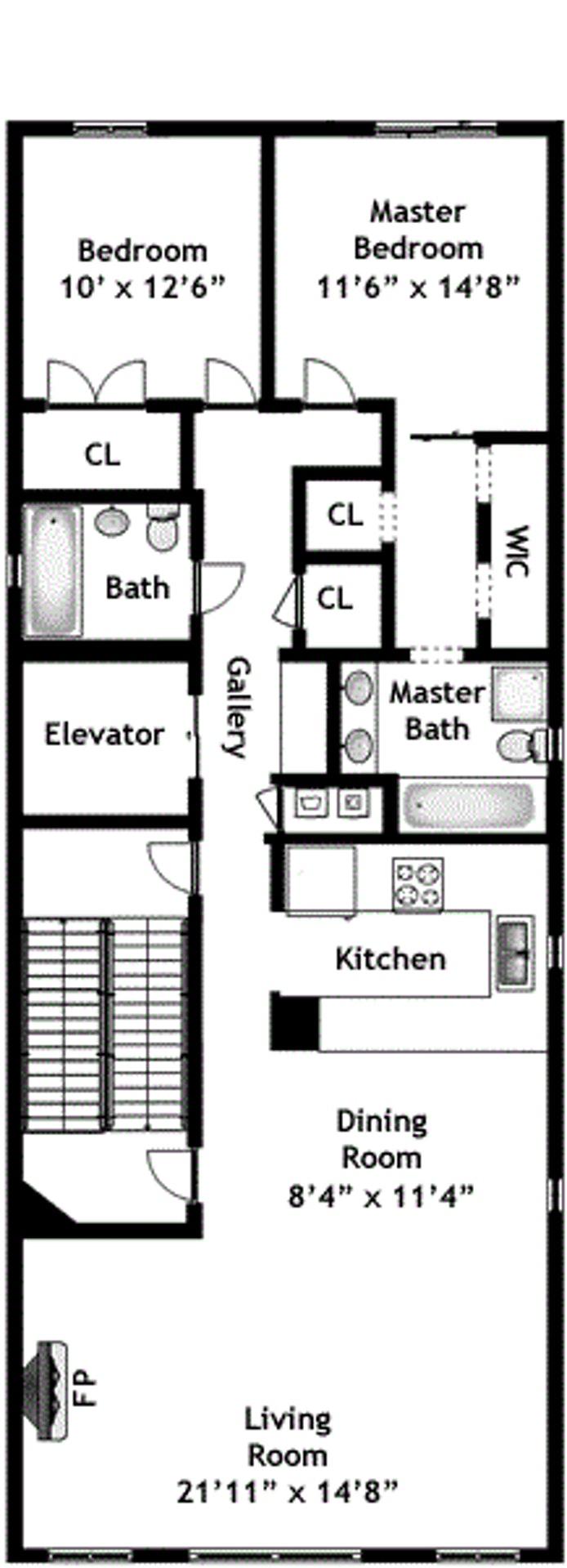 223 West 80th Street 2, Upper West Side, NYC, $6,500, Web #: 16523605