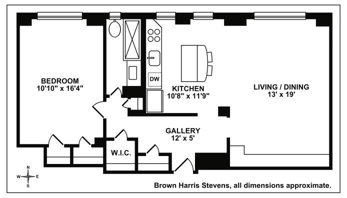 245 East 72nd Street, Upper East Side, NYC, $825,000, Web #: 16581965