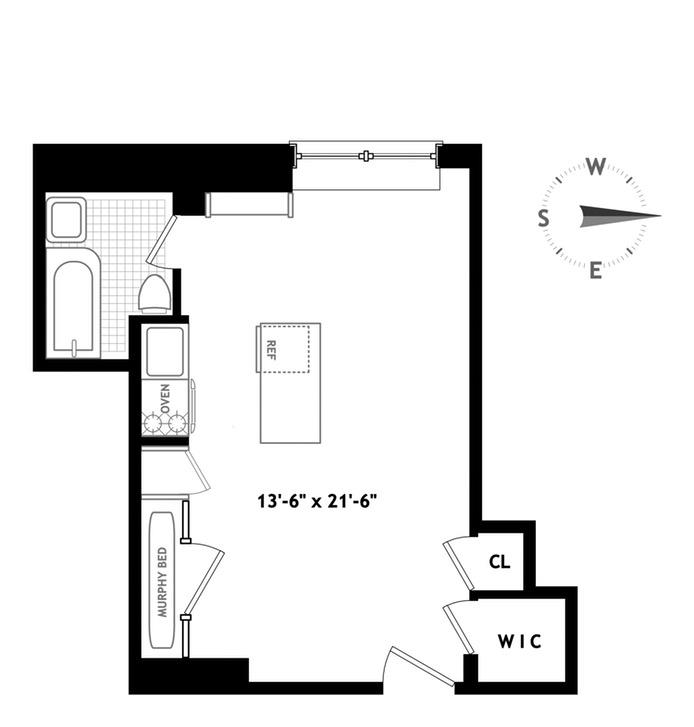 45 Tudor City Place, Midtown East, NYC, $355,000, Web #: 16720868