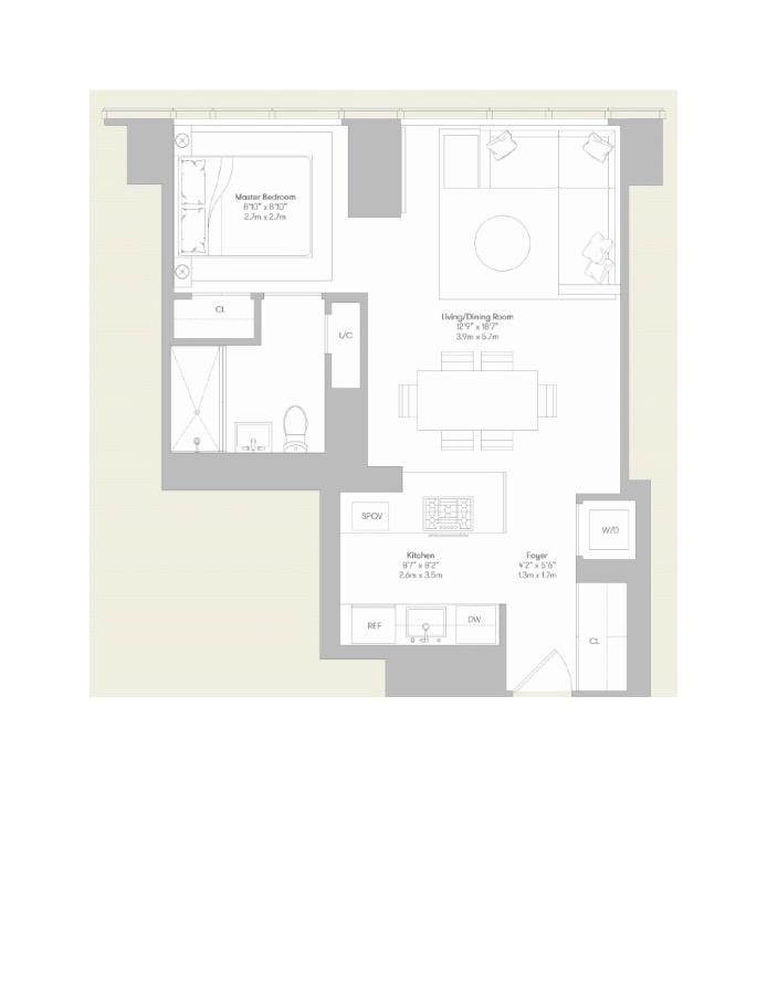 460 West 42nd Street, Midtown West, NYC, $3,800, Web #: 16732312