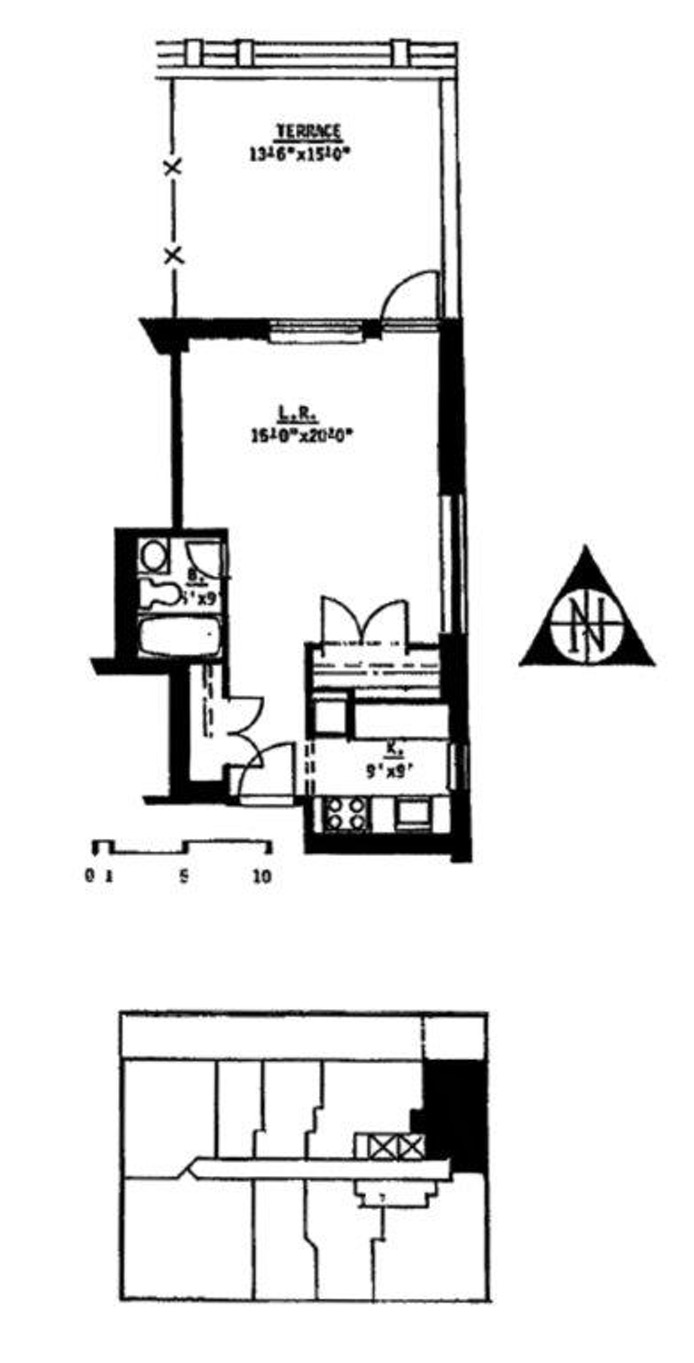 222 West 14th Street, Greenwich Village/Chelsea, NYC, $2,850, Web #: 16803728
