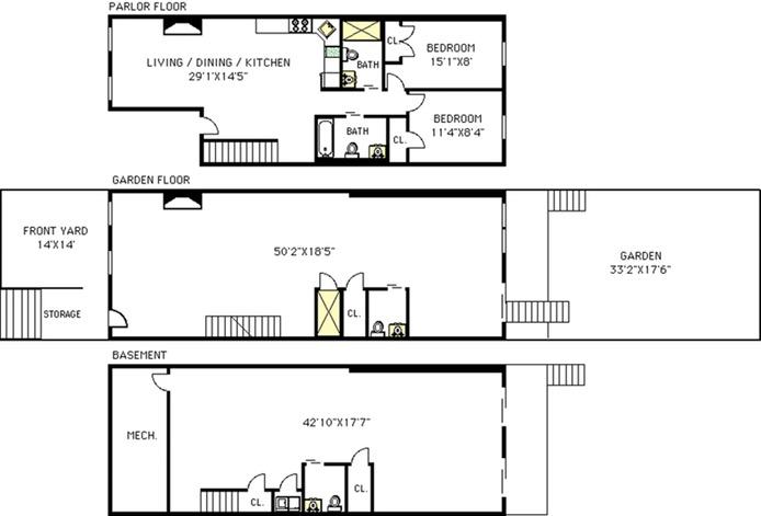546 Clinton Street 1, Brooklyn, New York, $2,200,000, Web #: 16827490