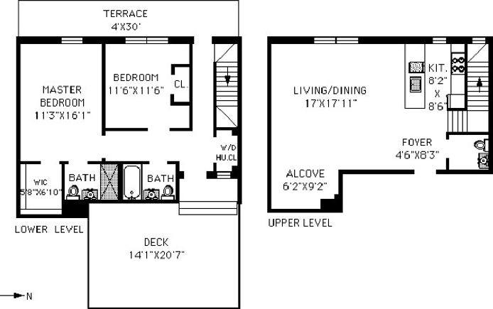 970 Kent Avenue Ph01, Clinton Hill, New York, $1,250,000, Web #: 17013111