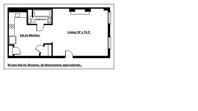155 Hicks Street 1A, Brooklyn Heights, New York, $395,000, Web #: 17029184