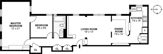 126 West 11th Street, Greenwich Village/Chelsea, NYC, $6,850, Web #: 17041470