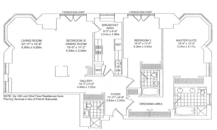 400 East 51st Street 18A, Midtown East, NYC, $10,500, Web #: 17162416