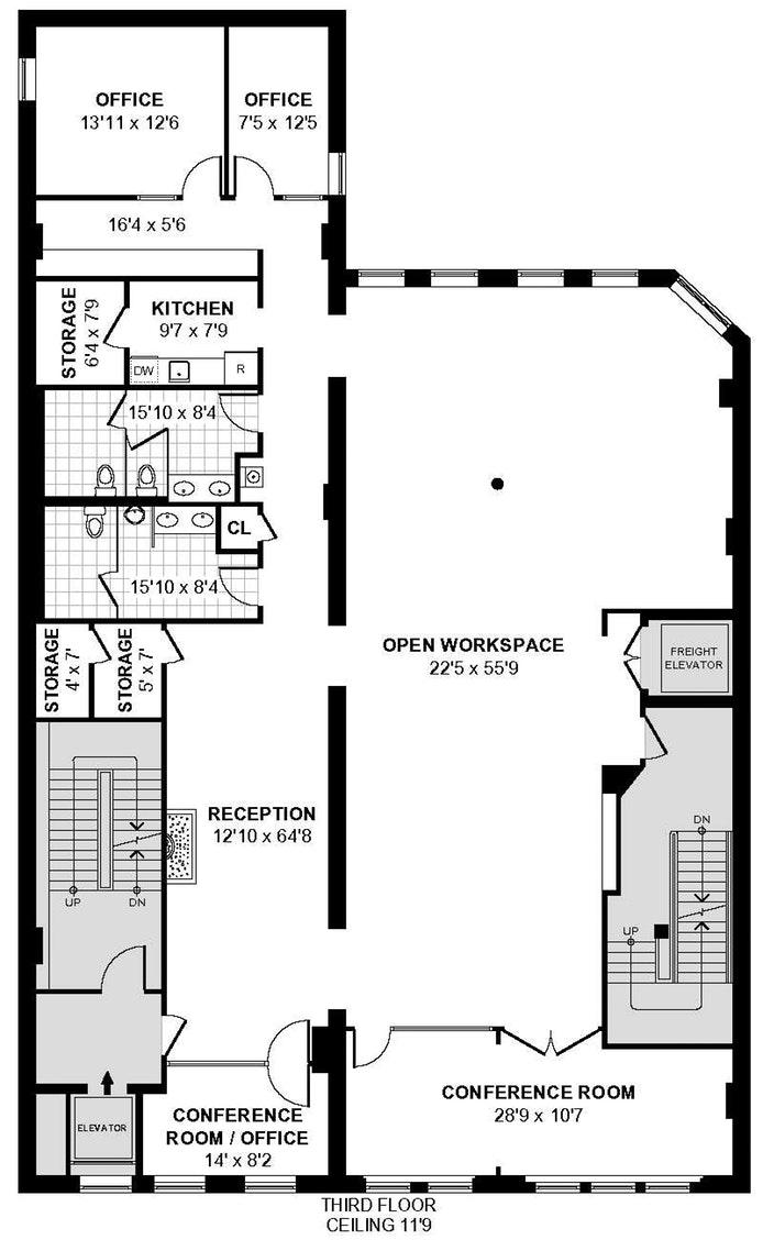 179 Franklin Street 3, Tribeca, NYC, $23,364, Web #: 17225770