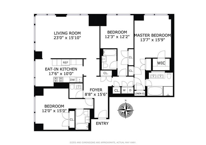 400 East 67th Street 29B, Upper East Side, NYC, $3,995,000, Web #: 17231980