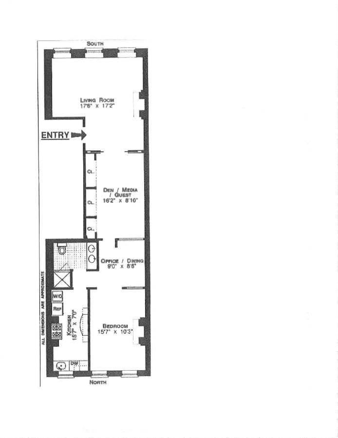 355 West 22nd Street, Greenwich Village/Chelsea, NYC, $5,495, Web #: 17392195