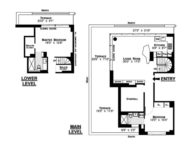 130 West 79th Street, Upper West Side, NYC, $2,550,000, Web #: 1742441
