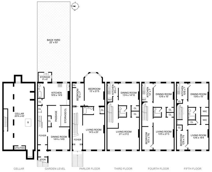 39 South Portland Avenue, Fort Greene, New York, $4,650,000, Web #: 17453669