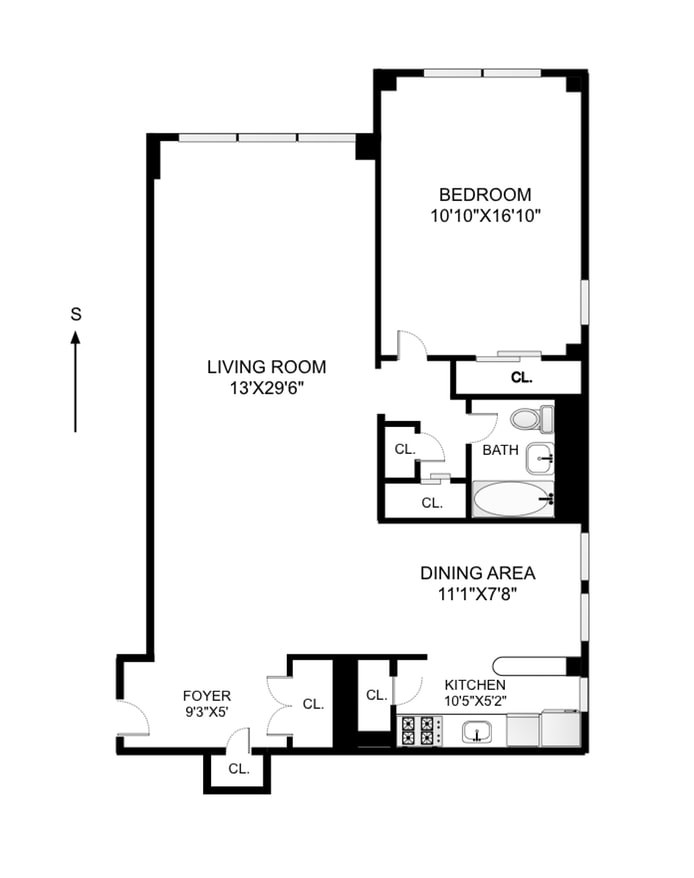 310 East 70th Street 8D, Upper East Side, NYC, $750,000, Web #: 17466613