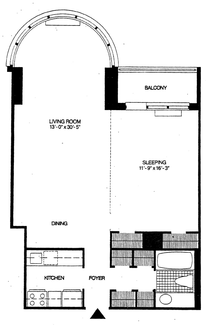 330 East 38th Street, Midtown East, NYC, $810,000, Web #: 1749934
