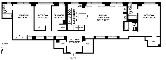 60 Gramercy Park, Flatiron/Gramercy Park, NYC, $1,950,000, Web #: 1750645