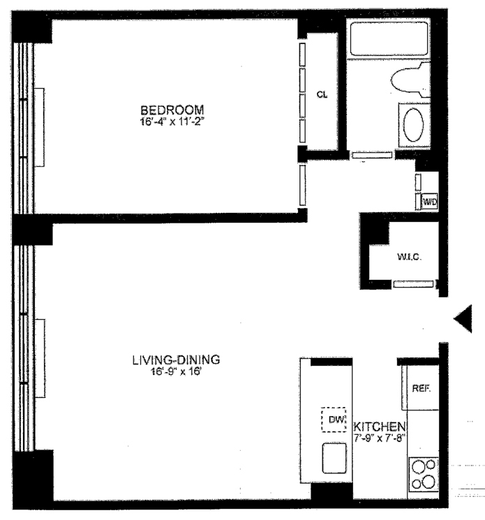 East 75th Street, Upper East Side, NYC, $2,695, Web #: 1751200