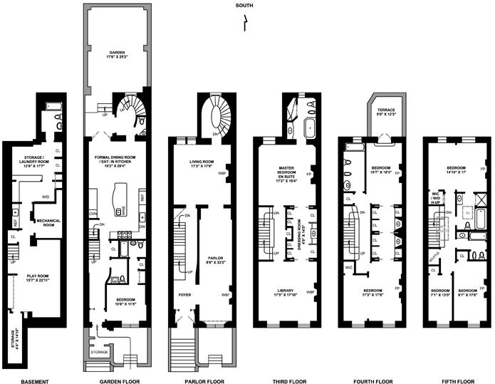 West 71st Street, Upper West Side, NYC, $8,000,000, Web #: 1751614