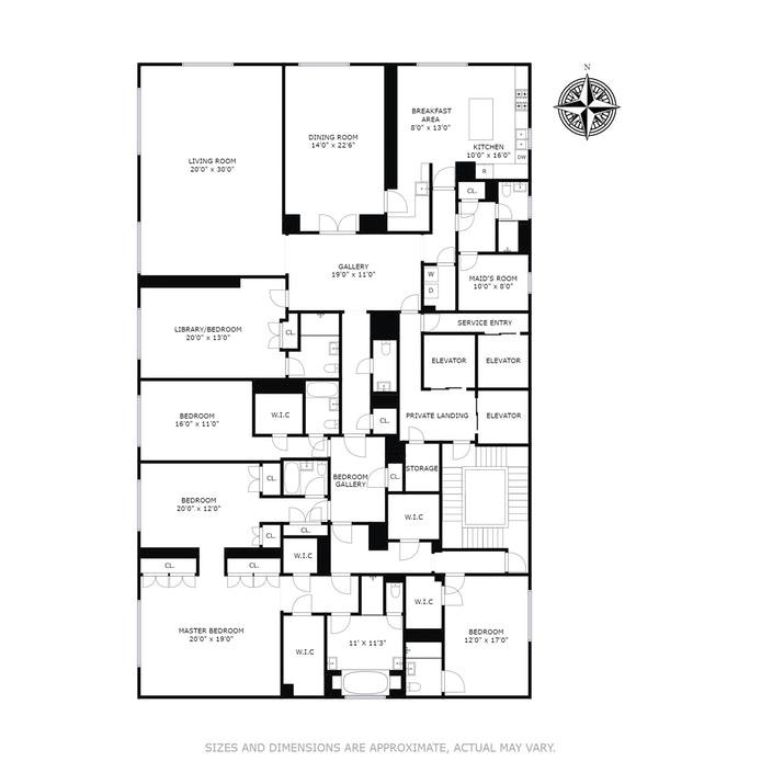 515 Park Avenue 12thfloor, Upper East Side, NYC, $15,900,000, Web #: 17524011