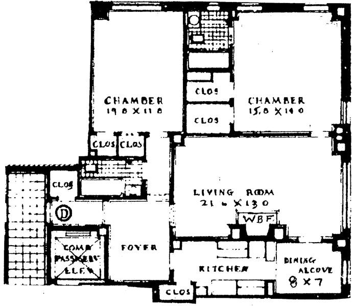 414 East 52nd Street, Midtown East, NYC, $905,000, Web #: 1753292