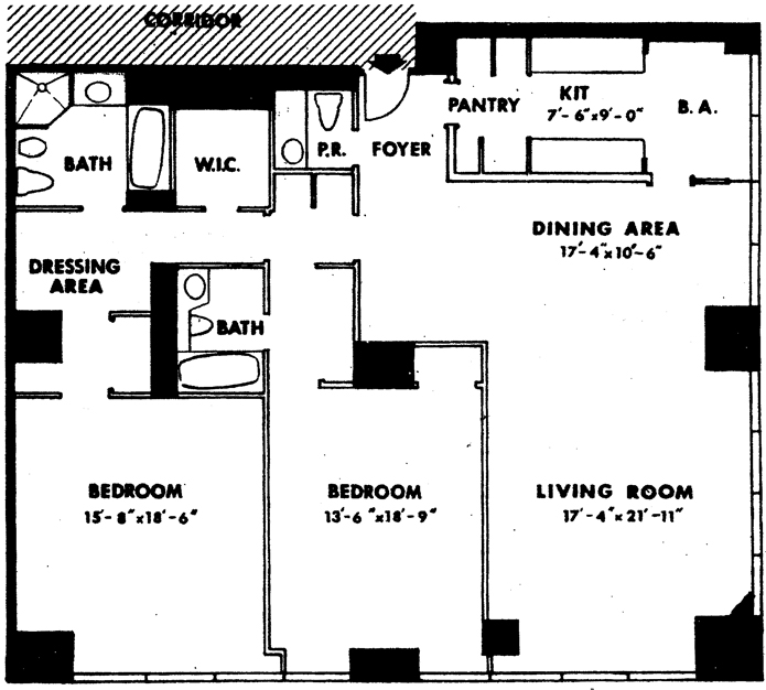 641 Fifth Avenue, Midtown East, NYC, $3,600,000, Web #: 1753714