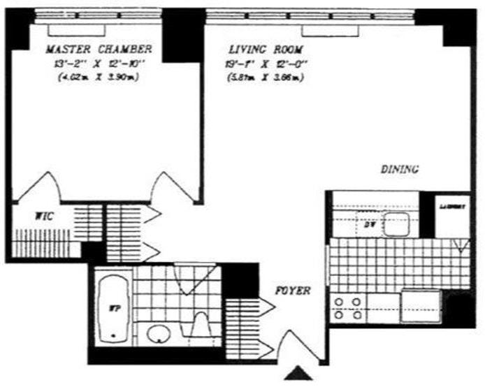 422 East 72nd Street 15B, Upper East Side, NYC, $3,500, Web #: 17544049