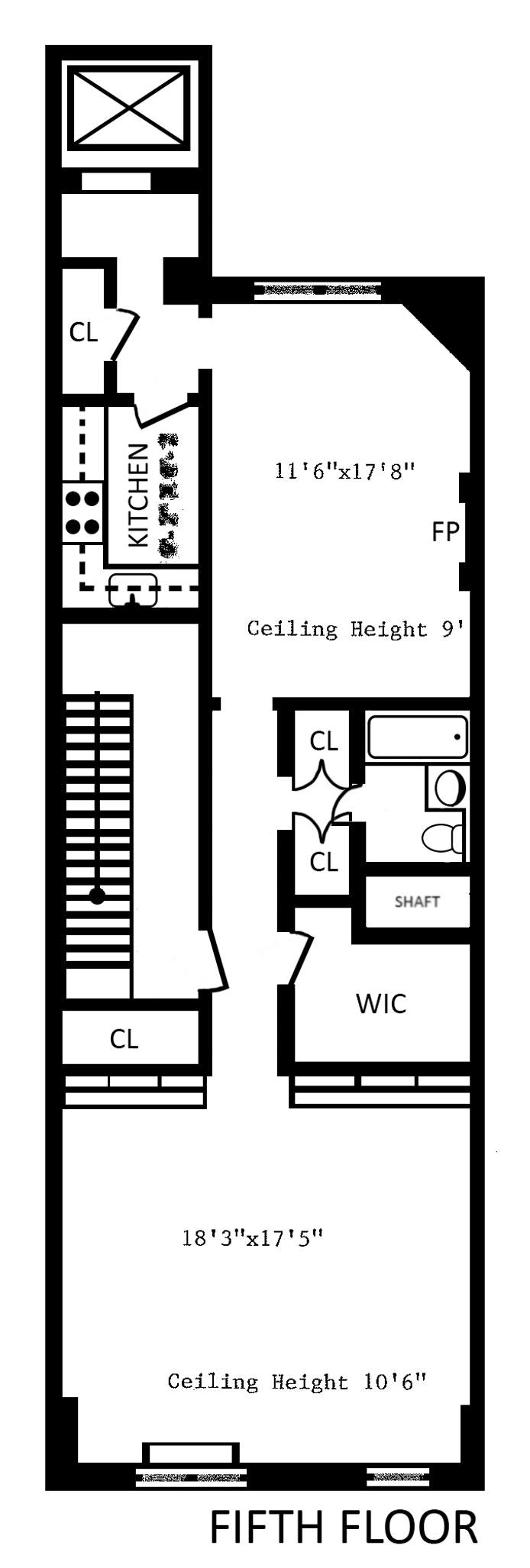 36 East 73rd Street 5, Upper East Side, NYC, $12,500, Web #: 17550382