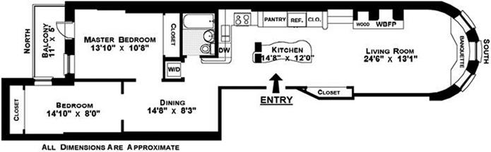 23 West 83rd Street Parlor Fl, Upper West Side, NYC, $1,250,000, Web #: 1757426