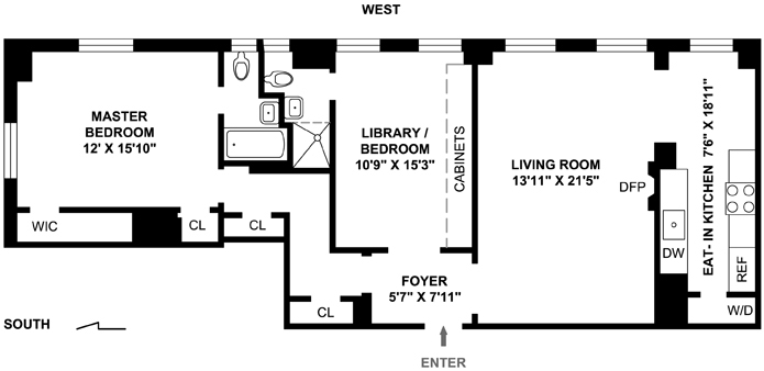 49 East 86th Street, Upper East Side, NYC, $1,599,000, Web #: 1757808