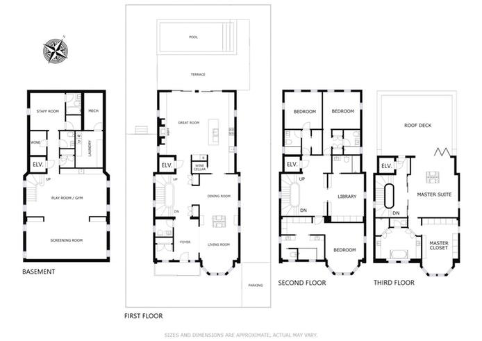56 Cambridge Place, Brooklyn, New York, $3,100,000, Web #: 17589825