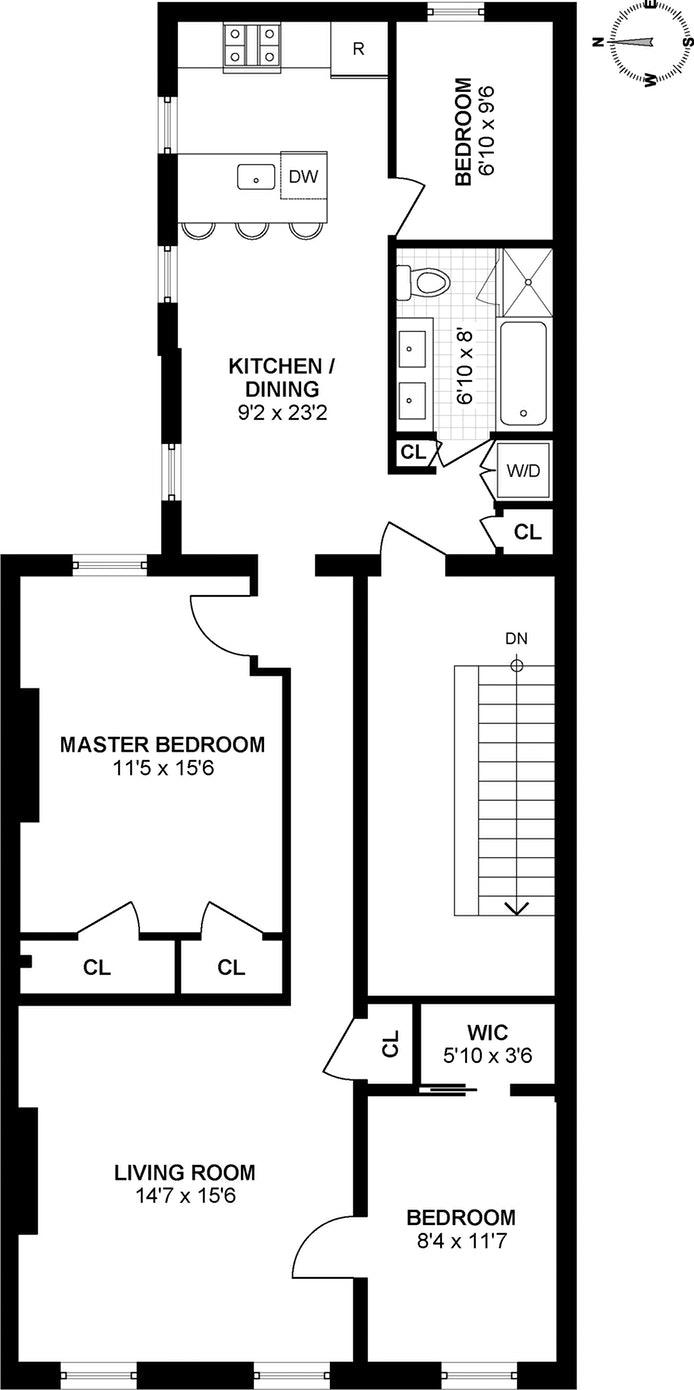 255 Carlton Avenue Ph, Brooklyn, New York, $4,600, Web #: 17603443