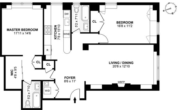 205 East 78th Street 9L, Upper East Side, NYC, $1,699,000, Web #: 17629631