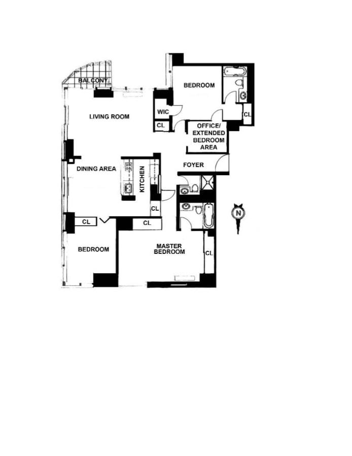 300 East 85th Street 1506, Upper East Side, NYC, $2,470,000, Web #: 17650794