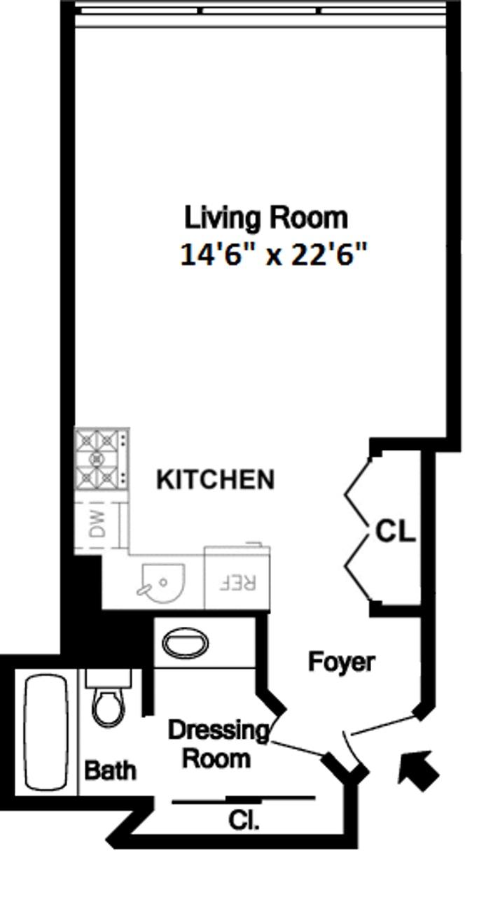 111 Fourth Avenue 3H, East Village, NYC, $3,495, Web #: 17651670