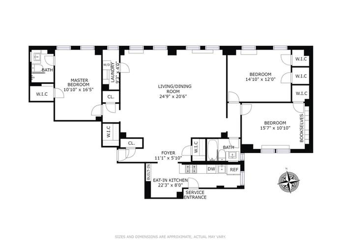 60 Gramercy Park 2Lm, Gramercy Park, NYC, $2,875,000, Web #: 17669572